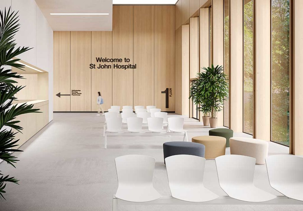 Beach Stone Healthcare Lobby